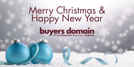 Merry Christmas & Happy New Year from Buyer's Domain - the smarter way to buy property.